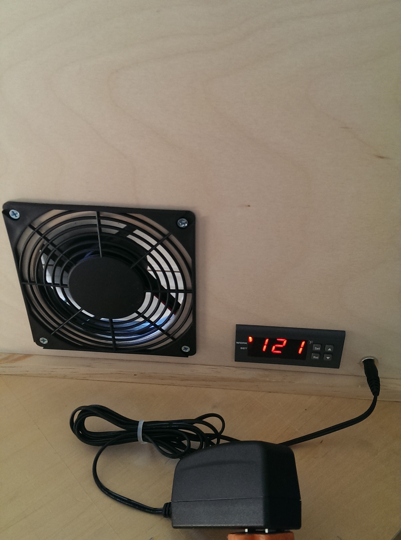 Solar Window Heater Temperature Switch