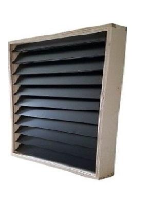 Solar Air Heater Cube SAS2424 4-Panel System
